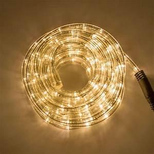 Tube Lumineux Exterieur : lotti guirlande tube lumineux 15m blanc chaud ~ Premium-room.com Idées de Décoration