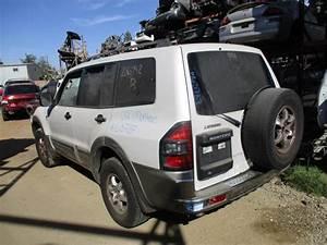 2002 MITSUBISHI MONTERO XLS WHITE 3 5L AT 4WD 163787