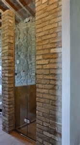 Doccia in muratura e vetro zottoz bagno con lavandino
