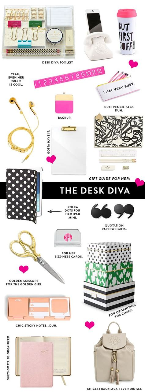 desk sets for her gift guide for her fun desk accessories gift guide