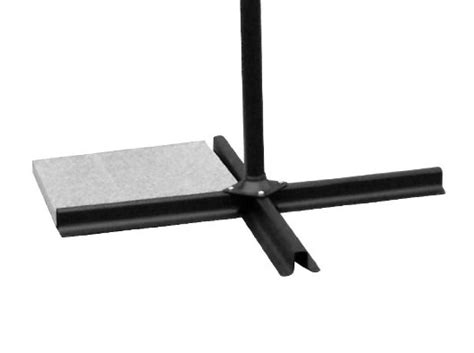 guide weighing   offset cantilever umbrella