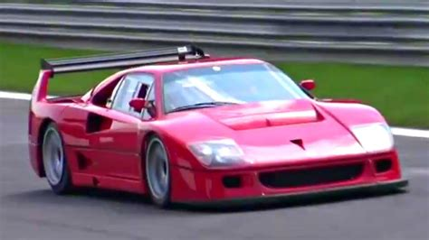 ferrari  lm insane sound accelerations fly bys