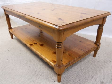 Antique Style Pine Long Coffee Table By Ducal-sold