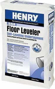 Henry 544 floor leveler self leveling underlayment 40 lb for Henry floor leveler