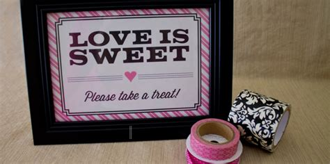 printable candy bar sign