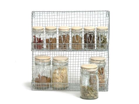 Wire Spice Rack by Finds Wire Spice Rack With Jars Homegirl
