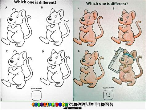racist coloring book corruptions