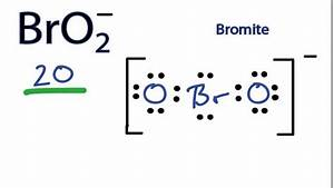 Bro2- Lewis Structure - How To Draw The Lewis Structure For Bro2-