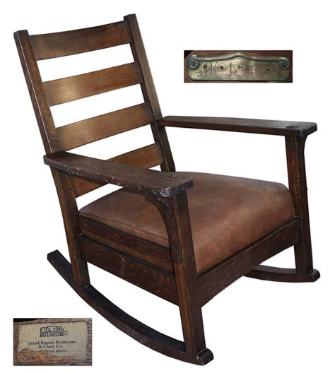 F Kennedy Rocking Chair by Lot Detail White House Rocking Chair Used By President