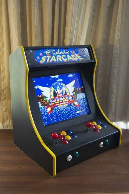 Countertop Arcade Cabinet - 2 player bartop arcade machine powered by pi arcade