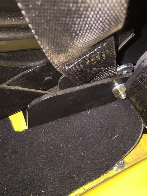 rock hard  harness lap belt front seat mounts  jeep