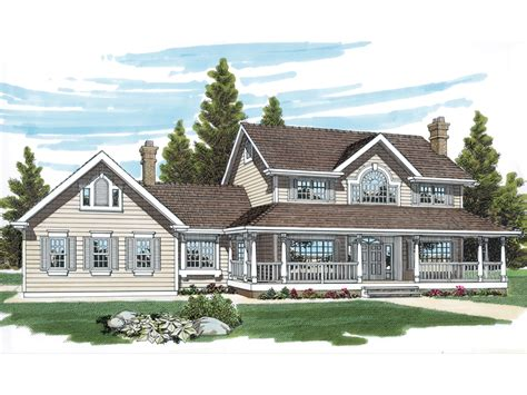 traditional farmhouse plans wrexham country farmhouse plan 062d 0015 house plans and more