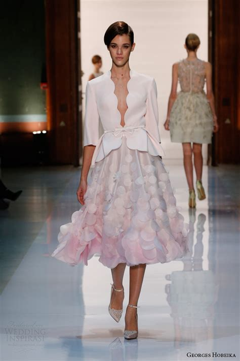 georges hobeika spring  couture collection wedding