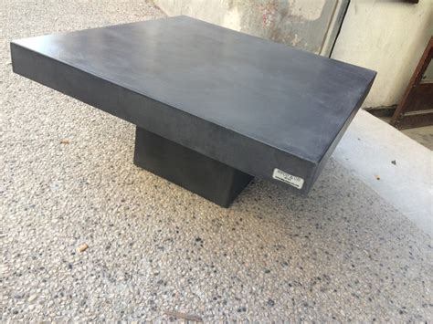 beton cire sur table bois photos de conception de maison