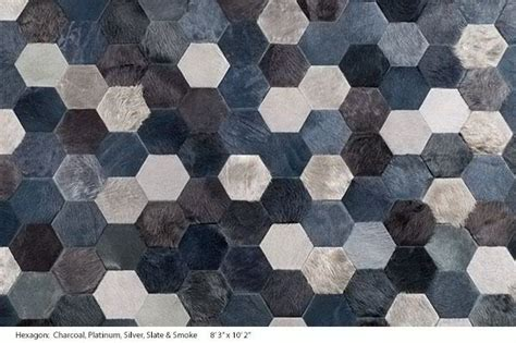Sterling CowHide Rug Designs by Kyle Bunting - Decoholic