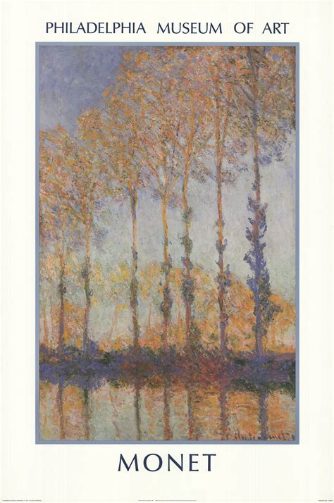CLAUDE MONET Poplars on the Bank of the Epte River 36