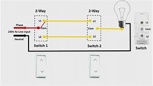 two way switch connection in engilsh universal clab With 2 way switch ppt