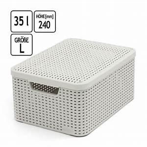 Rattan Box Mit Deckel : korb rattan weiss preis vergleich 2016 ~ Bigdaddyawards.com Haus und Dekorationen