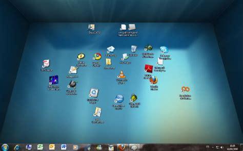 windows 7 icone bureau réaliser un bureau en 3d sous windows avec bumptop
