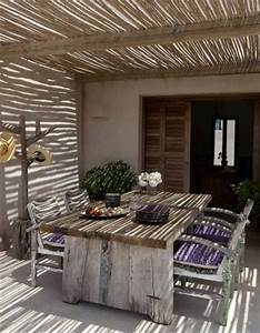 20 beautiful patios on a budget gardens beautiful and With canisse pour pergola exterieur 10 canne bambou decoration