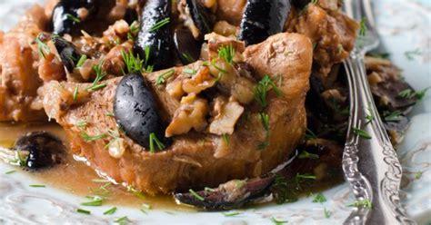 cuisiner roti de veau recette rôti de veau aux olives