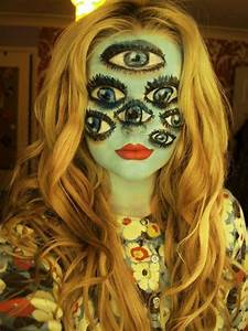 Halloween Make Up Puppe : coole halloween schminktipps f r einen einmaligen look ~ Frokenaadalensverden.com Haus und Dekorationen