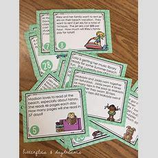 Multiplication & Division Task Cards {splash Into Summer!}  Spring Classroom Ideas Pinterest