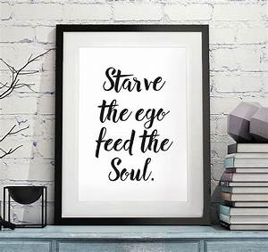 handwritten style quote print by over & over ...