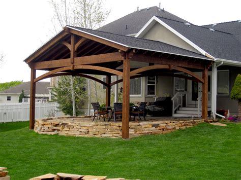 Pavilion Plans Backyard by Beautiful Backyard Pavilions