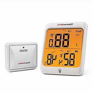 Thermopro Tp63 Digital Wireless Hygrometer Indoor Outdoor
