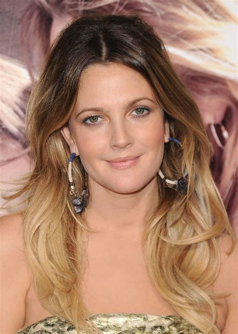 Drew Barrymore Long Ombre Hair Hairstyles Weekly
