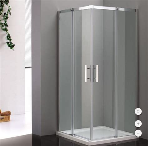box doccia  porta scorrevole angolare creation