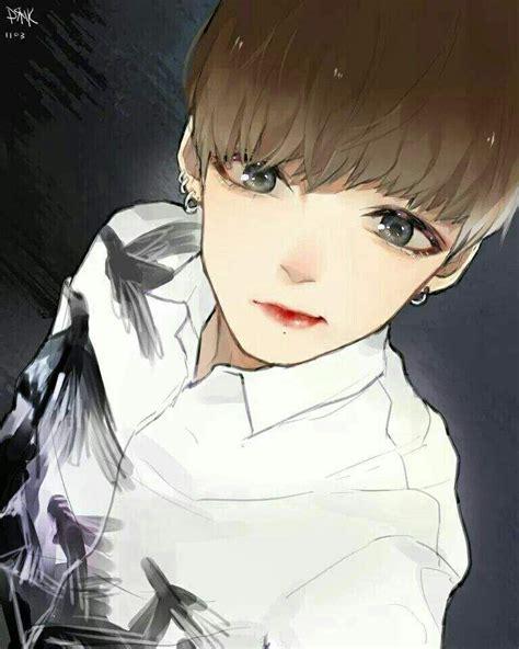 Bts Fanart Featuring Jungkook By Elix E On Deviantart Resultado De Imagen De Jungkook En Anime Jungkook T