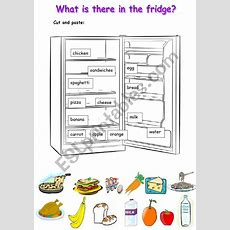 What Is There In The Fridge  Esl Worksheet By Paskalya