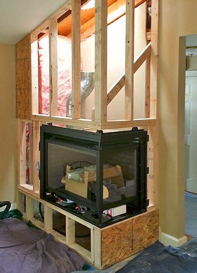 installing a gas fireplace insert custom fireplace installations confier co wood gas
