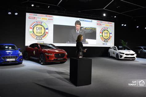 La Jaguar Ipace, Car Of The Year 2019 Au Tiebreak