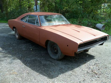 1968 Dodge Charger   Project Cars For Sale