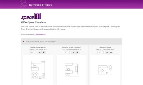 brenner design launches innovative office space planning tool