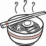 Noodle Cartoon Cup Hand Ramen Drawn Vector Bowl Illustration Clip Chopsticks Illustrations Cooked Rice Background Fish sketch template