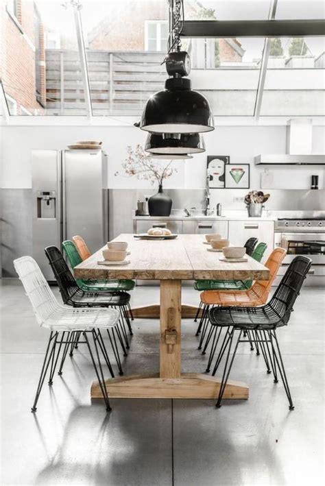 table cuisine style industriel l 39 aménagement d 39 une salle à manger style industriel en 48