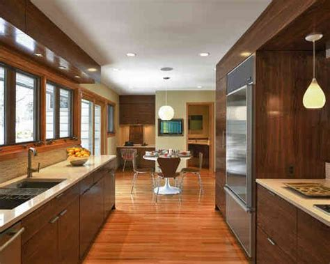 modern galley kitchen photos small galley kitchen extending into dining room would 7621