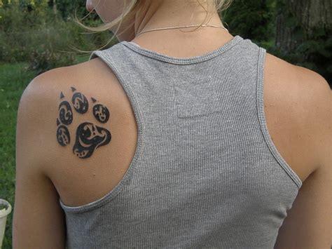 Tatouage Patte De Chien Tribale!!!  Le Blog De Barbamama