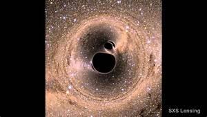 Black hole merger - YouTube