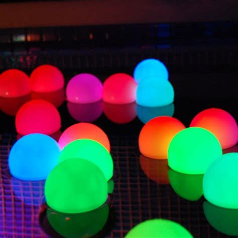 light up orbs for pool glow in the dark pool party supplies that rock infobarrel