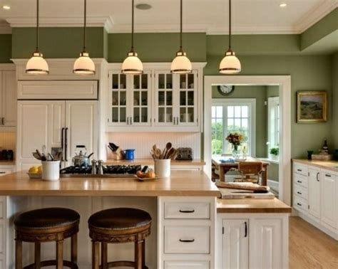 25+ Best Ideas About Green Kitchen Walls On Pinterest