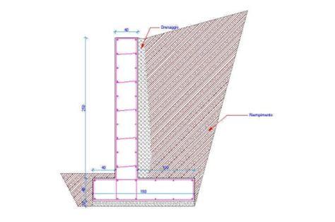 Muro Di Sostegno A Mensola by Opere Di Sostegno Rigide E Flessibili San Cipriano