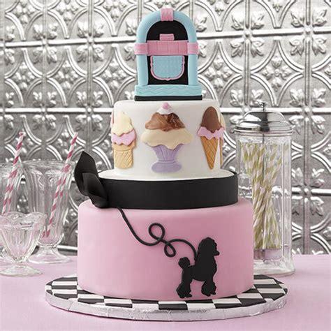 malt shop cake wilton