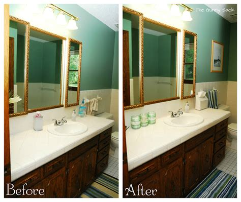 {5 Easy Steps} Quick Bathroom Makeover Just In Time For