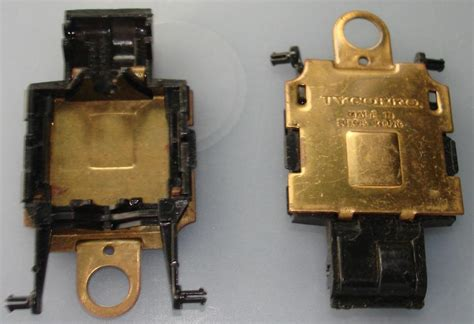 Tycopro Ho Scale Slotcar Part Brass Pan Chassis Type Ii