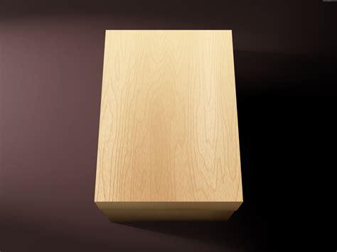blank wooden box psdgraphics